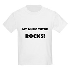 MY Music Tutor ROCKS! Kids Light T-Shirt