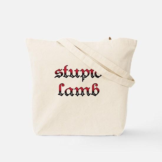 Stupid Lamb Twilight Tote Bag
