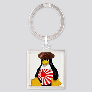 Tux in Japan Keychains