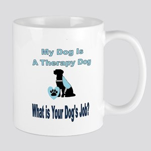 Therapy dog male Mugs