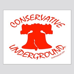 Conservative Underground Small Poster