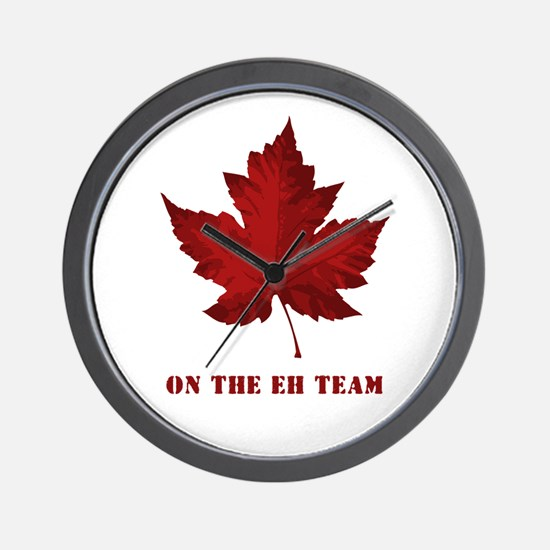 On the EH Team! Oh Canada! Wall Clock