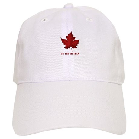 On the EH Team! Oh Canada! Baseball Cap by pom rescue 3d24d6452e75