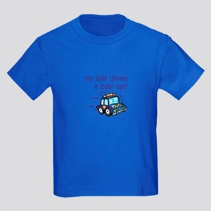 Police Officer's Kids Kids Dark T-Shirt