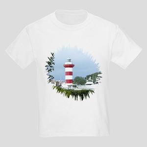 Hilton Head Lighthouse Kids Light T-Shirt