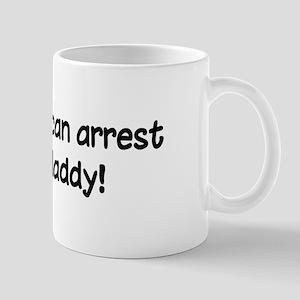 Funny Police Daddy Mug