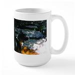 oddFrogg American Akita Large Mug