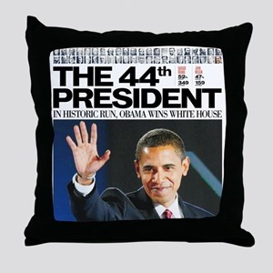 Obama: The 44th President Throw Pillow