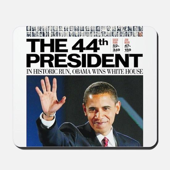 Obama: The 44th President Mousepad