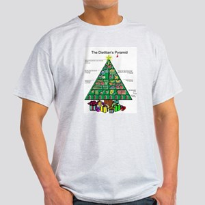 Dietitian Christmas Ash Grey T-Shirt