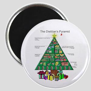 Dietitian Christmas Magnet