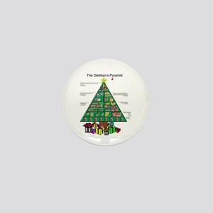 Dietitian Christmas Mini Button