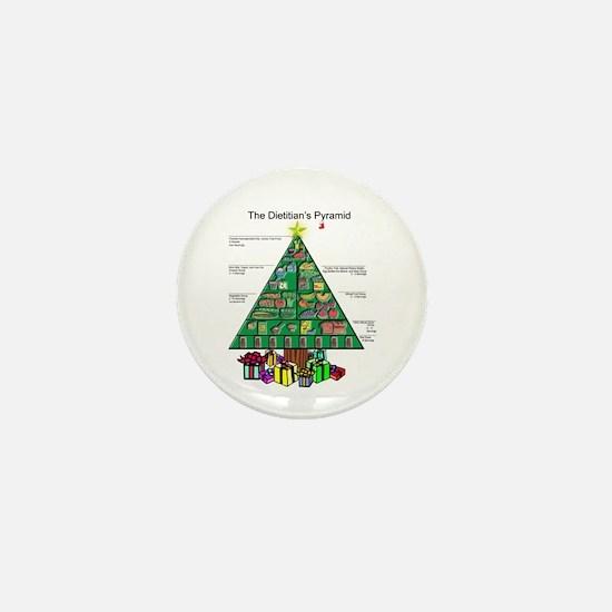 Dietitian Christmas Mini Button
