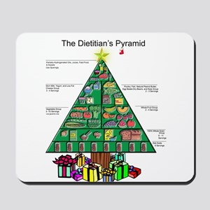 Dietitian Christmas Mousepad