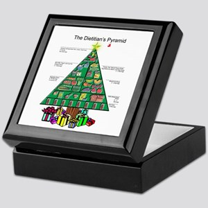 Dietitian Christmas Keepsake Box