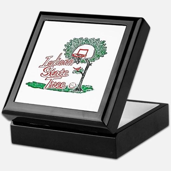 Funny Indiana hoosiers Keepsake Box