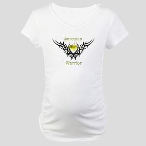 Sarcoma Warrior Maternity T-Shirt