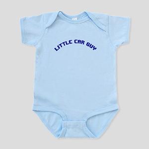 Infant Bodysuit-Little Car Guy-Blue