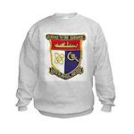 USS HAMUL Kids Sweatshirt
