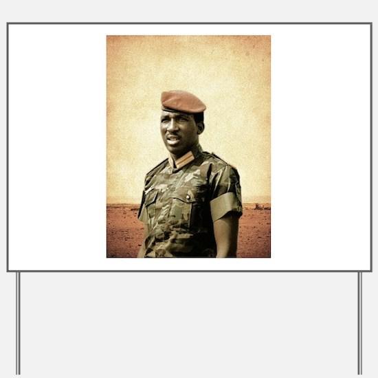 Thomas Sankara - Burkina Faso - African Yard Sign