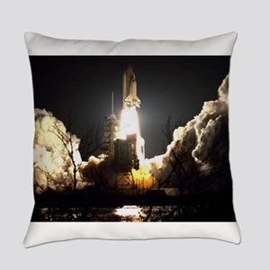 Night Launch Everyday Pillow