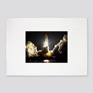Night Launch 5'x7'Area Rug