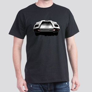 Countach Rear Dark T-Shirt