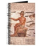 Tunisia Roman Mosaic: Fisherman Journal