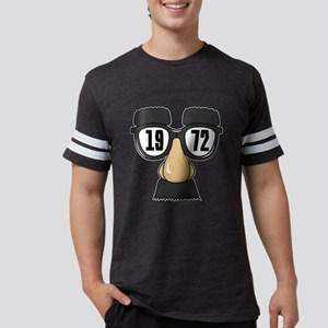Born in 1972 Birthday Designs Mens Football Shirt
