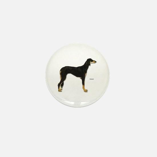 Saluki Dog Mini Button