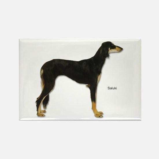 Saluki Dog Rectangle Magnet