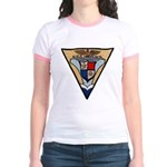 USS HANCOCK Jr. Ringer T-Shirt