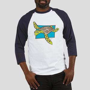 Sea Turtle Collection Baseball Jersey