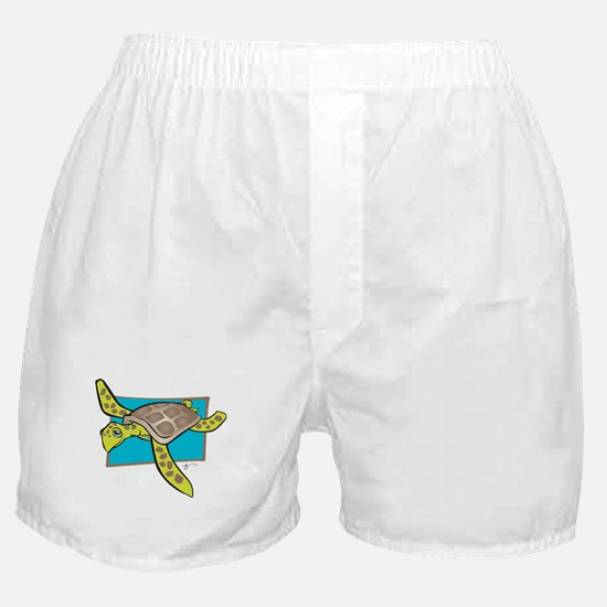 Sea Turtle Collection Boxer Shorts