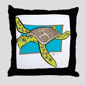 Sea Turtle Collection Throw Pillow