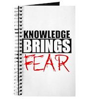 Knowledge Brings Fear Journal