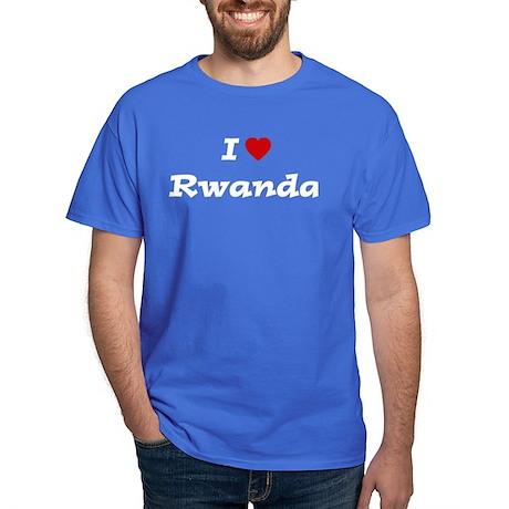 I HEART RWANDA Dark T-Shirt