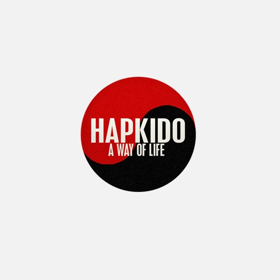 HAPKIDO A Way Of Life Yin Yang Mini Button