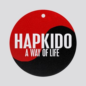 HAPKIDO A Way Of Life Yin Yang Ornament (Round)
