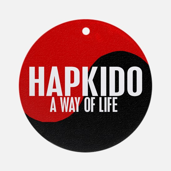 HAPKIDO A Way Of Life Yin Yang Ornament (Round)