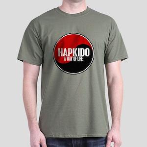 HAPKIDO A Way Of Life Yin Yang Dark T-Shirt