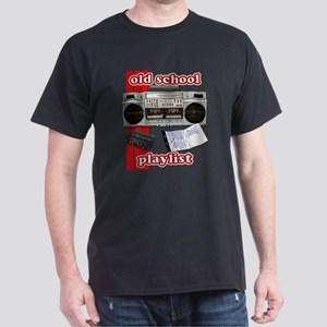 Old School Playlist Dark T-Shirt