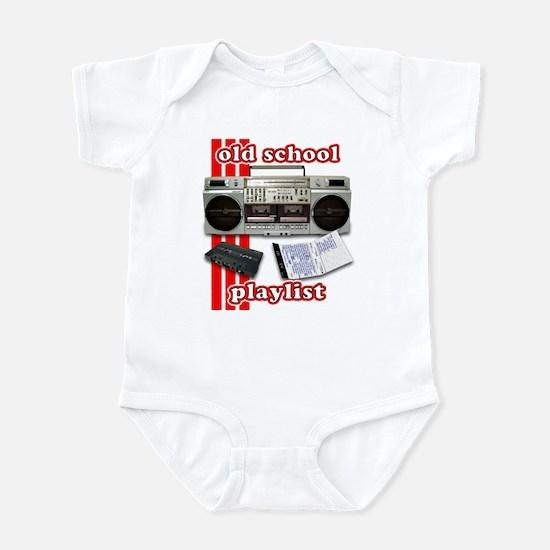 Old School Playlist Infant Bodysuit