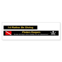 Finders Keepers, License Plate Frame Stickers