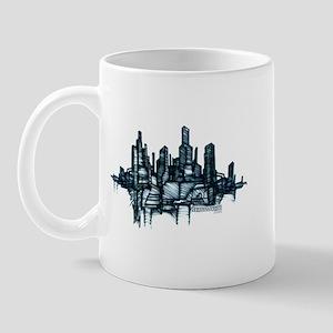 """""""City Sketch"""" Mug"""