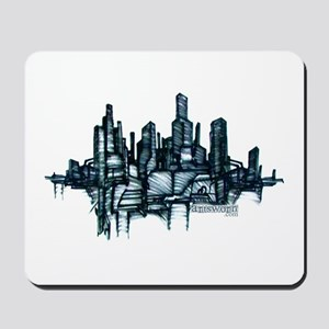 """City Sketch"" Mousepad"