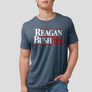 Reagan Bush '84 Campaign Women's Dark T-Shirt