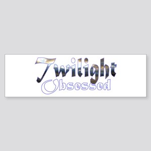 Obsessed by Twilight Books Bumper Sticker
