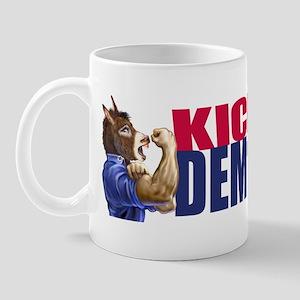 Kick Ass Democrat Mug