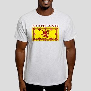 Scotland Scottish Flag Ash Grey T-Shirt